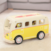 Casey cool wooden campervan