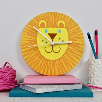 Children's Lion Clock