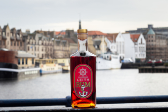 Leith Rum at the port of Leith, Edinburgh