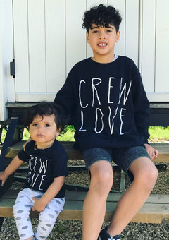 Familyhood Crew Love TShirt and Swweatshirt