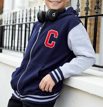 Personalised Hooded Varsity Jacket