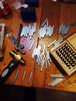 Traditional metal stamping tools