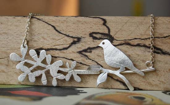 Bird & Branch Necklace