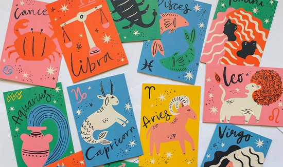 Astro Star Sign Greeting Cards