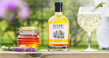 Keepr's London Dry and Cotswold Honey Gin