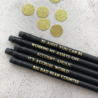 Accounting Pencils