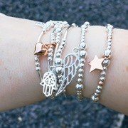 stacking bracelets sterling silver