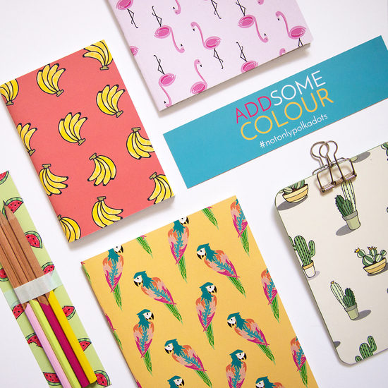 Fun and Colourful Stationery
