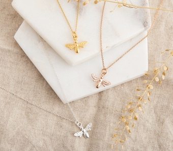 Bee Necklaces