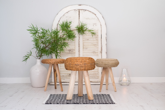 NEW Range for Wicker and Natural Wood Stools