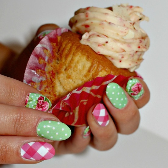 Country Rose Nail Wraps