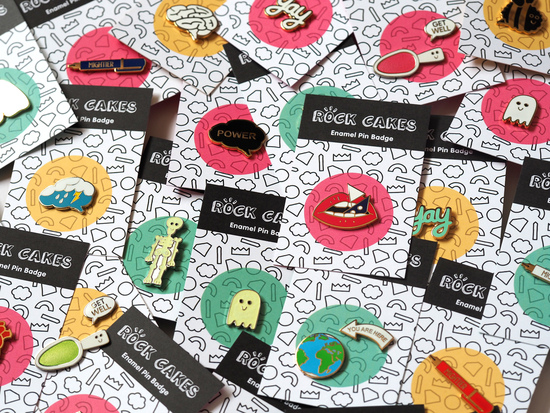 Rock Cakes Pins