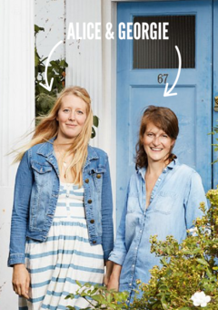 DOTTY DUNGAREES FOUNDERS ALICE AND GEORGIE