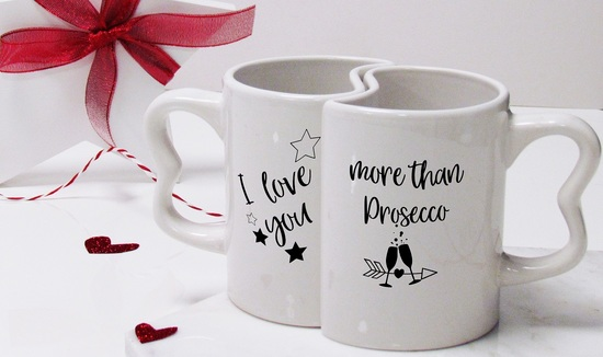 Valentine's Day I Love you More Than... Mug Set