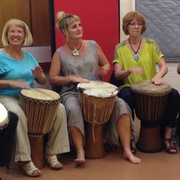 Drumming community fun