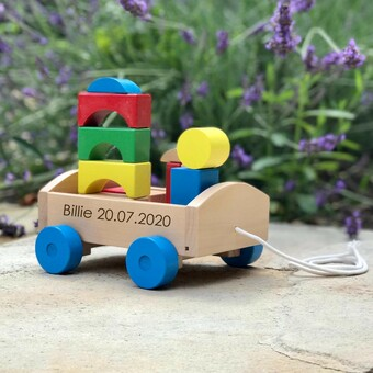 Personalised Wooden Cart