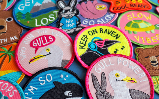Iron on Patches Collection by hello DODO