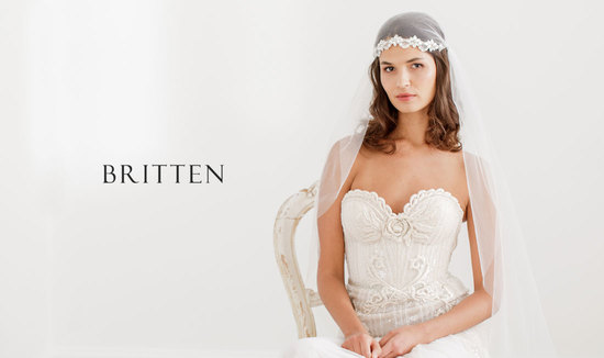 Wedding veils by Britten