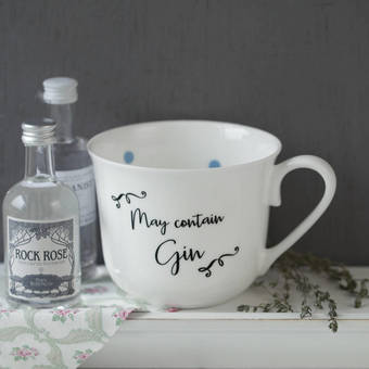 gin and spot design cups