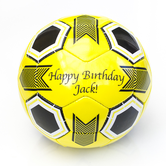 personalised football