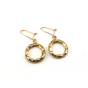 Chain Earrings in 9caratYellow Gold