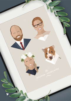 Family Personalised Portrait