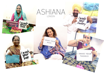 Ashiana sustainable fashion london