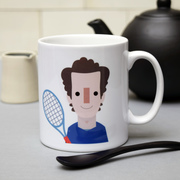 Andy Murray Inspired Mug