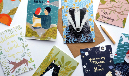 Stephanie Cole Design cards murals, illustration & design