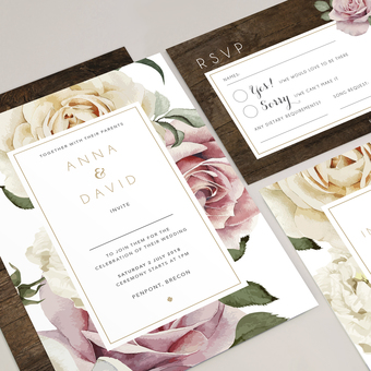 Anna wedding invite