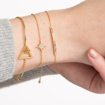 Layer up your wrist candy.