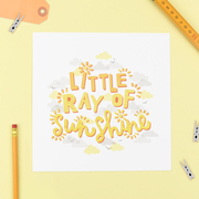 Jane Katherine Houghton Designs Baby Print Ray of Sunshine