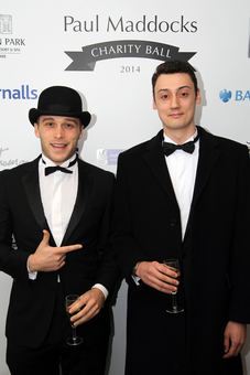 James and Jon Looking Fancy