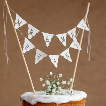Personalised Mr & Mrs Cake Bunting