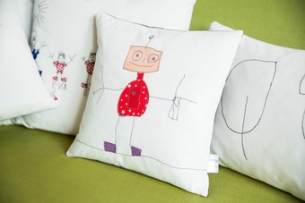 Children's Design's on to a Cushions