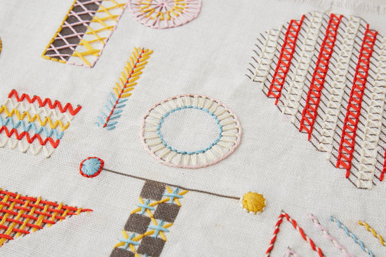 A-Z Embroidery Sampler