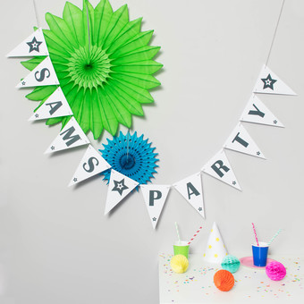 Personalised Party Decoration
