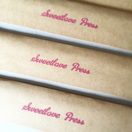 Sweetlove Press stamp