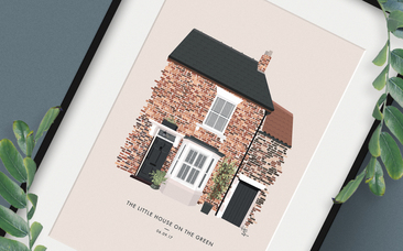 house personalised portrait