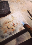 Soldering a ring