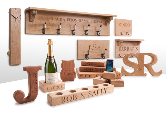 House of Carvings solid oak gifts and homeware