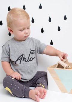 personalied baby t-shirt
