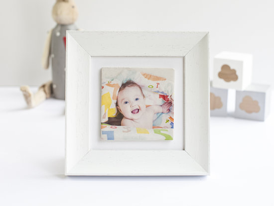 Single kiln-fired ceramic tiles featuring your favourite photo