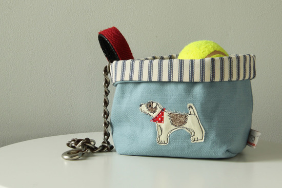 Jack Russell storage pot by Poppy Treffry