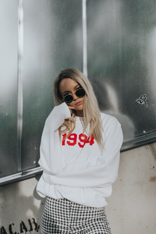 Personalised Year Sweatshirt from Rock On Ruby - Onyi Moss
