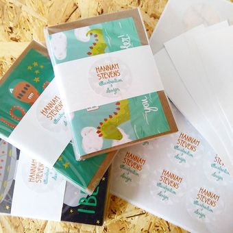 Packing greetings cards