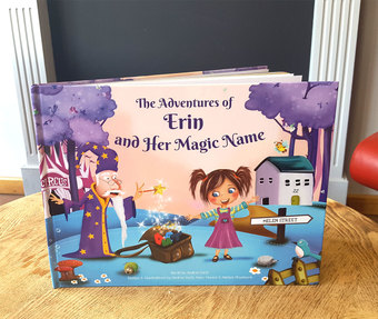 Our Personalised Children's Book Finished