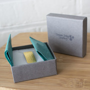 Joanne Tinley Jewellery packaging dove grey boxes