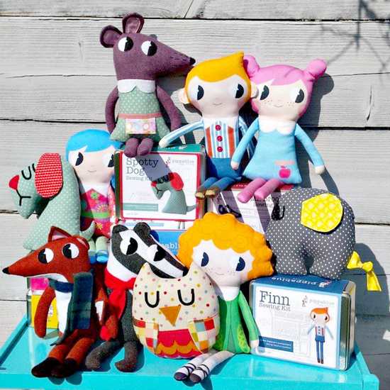 Pippablue Sewing kit family