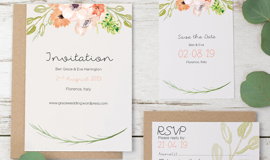 Invitations by Violet Pickles